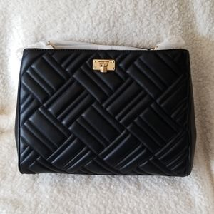 Michael Michael Kors lg leather quilted Peyton bag